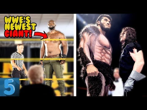 5 TALLEST GIANTS To Ever Step Foot In A WWE Ring (REAL Heights)