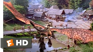 Dragonheart: A New Beginning (2000) - Taking Flight Scene (3/10) | Movieclips