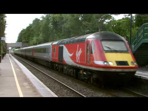 Virgin East Coast 43305 on Cross Country passes Barnt Green …