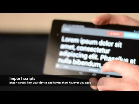 Video of Teleprompter Pro LITE