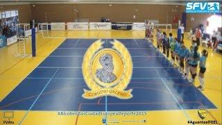 preview picture of video 'Temporada 14/15 - Feel Volley Alcobendas vs IBSA CV ACE GranCanaria.com'