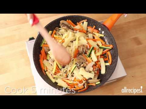 Vegetarian Recipes – How to Make Vegetarian Bibimbap