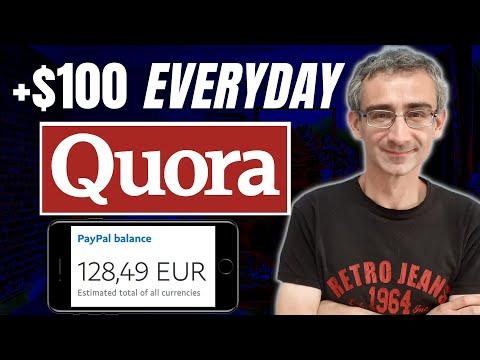 [$1000 A Month] Make Money Blogging | Quora Affiliate Marketing