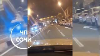 Смертельное ДТП В Адлерском районе. Сбили женщину (21.10.2018)