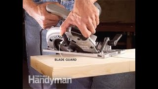 How to cut a compound angle using a circular saw