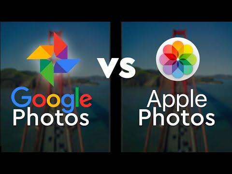 Apple Photos vs Google Photos 2019: a cloud backup review