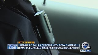 5pm Police Officer Body Cameras record domestic violence response calls