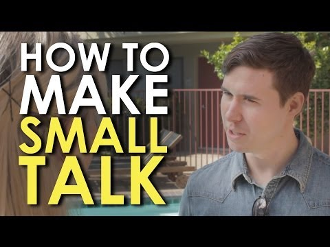 This Video Teaches You The Basics Of Making Small Talk