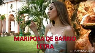 Lirys - Letra Mariposa De Barrio -- Jenni Rivera -- (Carolina Ross Cover)