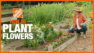 How To Plant Flowers | Gardening Tips And Projects | The Home Depot