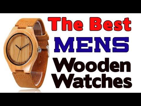 5 Best Mens Wooden Watches 2017