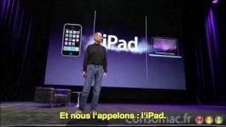 Consomac.fr : Steve Jobs présente l'iPad