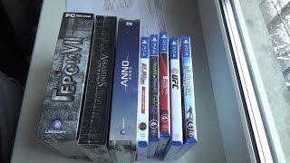 Распаковка игр купленных в Черную Пятницу / Black Friday's videogame unboxing.