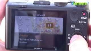 Sony Cyber-shot DSC-HX50V Sonder-Videotestbericht