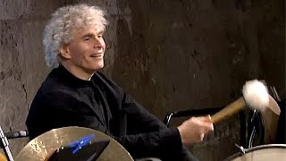 Lincke: Berliner Luft / Berliner Philharmoniker (with Simon Rattle at the bass drum)