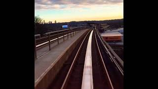 Time-lapse Of Vancouver's Skytrain (Expo Line)