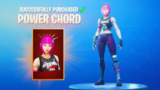 The RARE POWER CHORD SKIN is BACK in Fortnite!