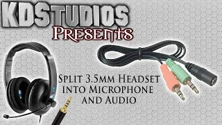 How to get Microphone and Sound from Single 3.5mm Headsets (Turtle Beach PS4 / Xbox One) - Quick Tip
