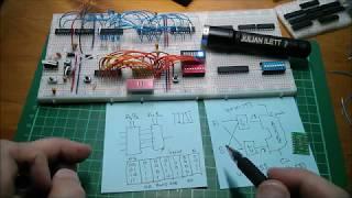 Arithmetic Logic Unit (ALU) for 8-bit Computer - Thoughts