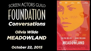 Conversations with Olivia Wilde of MEADOWLAND
