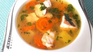 СУП ИЗ КРАСНОЙ РЫБЫ /  Очень Вкусный Рыбный Суп / Fish soup