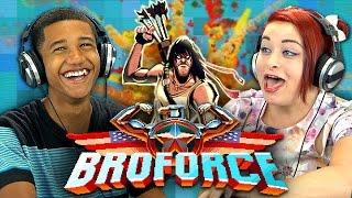 BROFORCE (Teens React: Gaming)