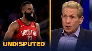 Skip Bayless was not impressed with James Harden's 61-point night vs Knicks | NBA | UNDISPUTED