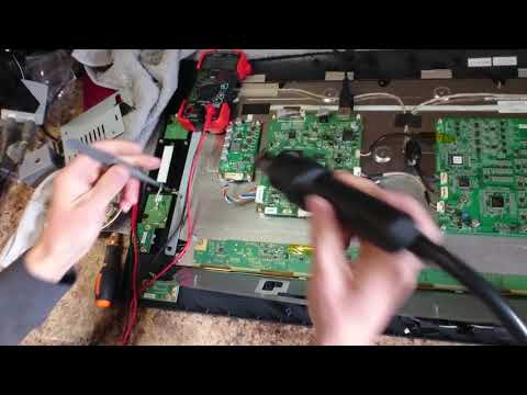 Part 3 Wacom Cintiq 22HD DTK-2200 Display Not Lighting Repair