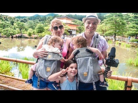 Tour of Kinkaku-ji, the Golden Pavilion of Kyoto Japan + AMAZING Curry Udon Soup!