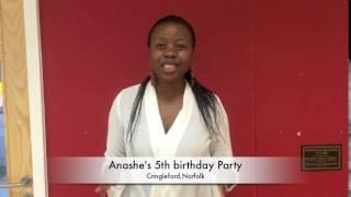 Anashe's 5th birthday party