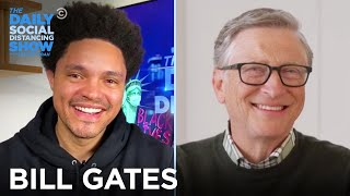 """Bill Gates: """"How to Avoid a Climate Disaster"""" & Driving Innovation  The Daily Social Distancing Show"""