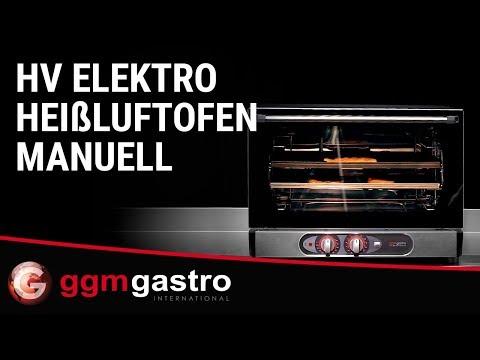 Elektro Heißluftofen HV MANUELL - GGM Gastro