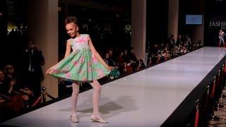 Детский показ мод 2015 в Москве ♥ Одежда для девочек лето 2015 Pride Production ♥ Модные детки
