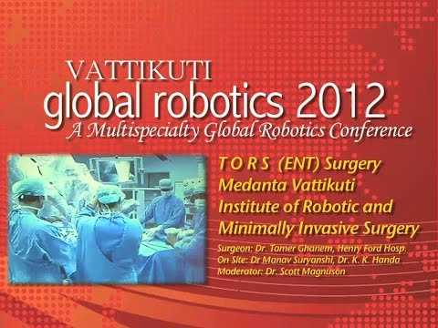 VGR  TORS (ENT) Surgery  Medanta Vattikuti Institute of R. S.
