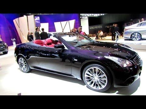 Infiniti Q60 Cabrio Кабриолет класса A - рекламное видео 1