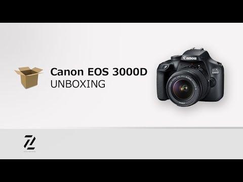 Unboxing Canon 3000D