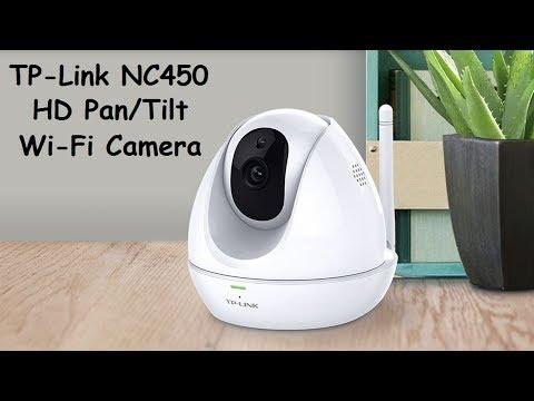 TP-Link NC450 HD Pan/Tilt Day/Night Wi-Fi Cloud Camera.