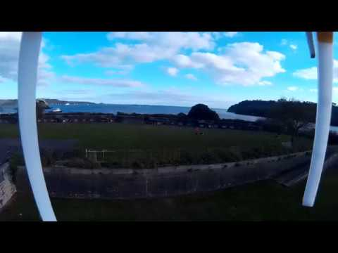 Raw Flight footage with 450 sized Quadcopter and Shockproof Camera Holder