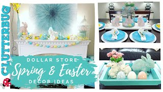 Easter And Spring Decorating Ideas 2020 - Dollar Store Decorate With Me 🐰