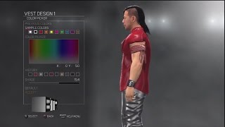 WWE 2K17 Superstar Threads Shinsuke Nakamura x2