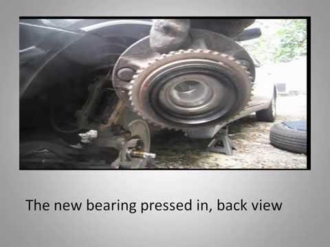 97-01 infiniti Q45 front wheel bearing replacement
