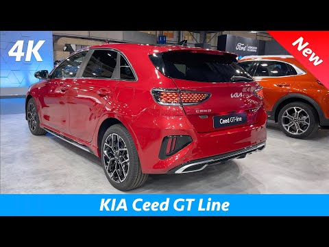 KIA Ceed GT-Line 2022 - First FULL Review in 4K | Exterior - Interior (Facelift), PRICE