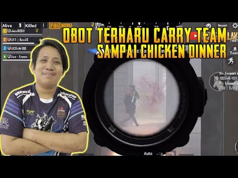 Auto Gelak! Obot Carry Team Sampai Chicken | PUBG Mobile Malaysia