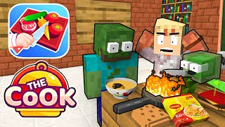 Monster School : THE COOK CHALLENGE WITH CHEF RAMSAY - Minecraft Animation