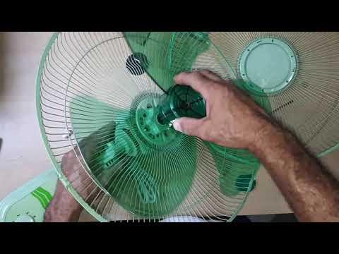 Como armar un ventilador de pared universal 110 VAC