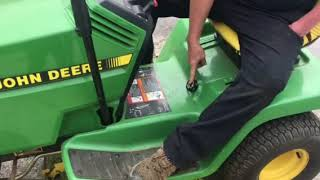 How to operate a John Deere LX188