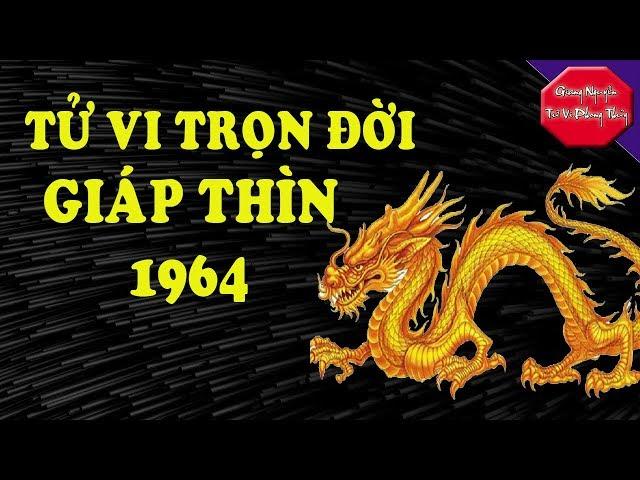 Giáp Thìn 1964 Tử Vi Trọn Đời Vừa Quyền Lực Vừa Giàu Có Đáng Ngưỡng Vọng Giang Nguyễn Tử Vi