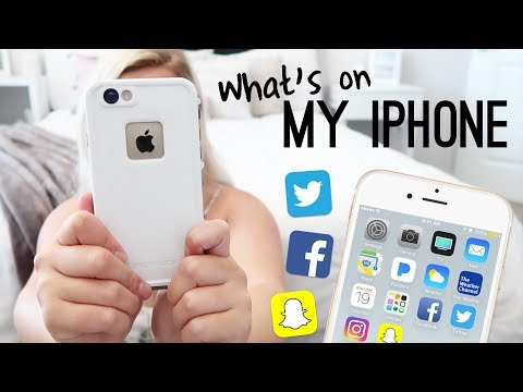 What's On My iPhone + How I Edit My Instagram Photos