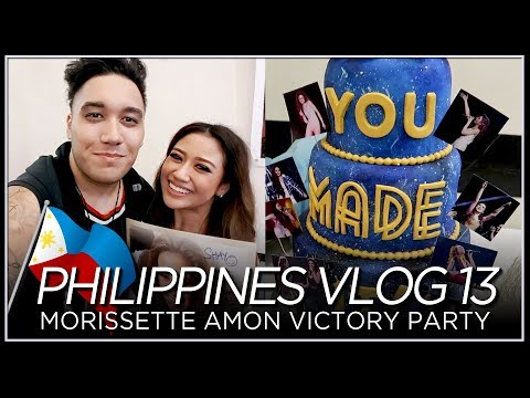 Morissette Amon Victory Party - PHILIPPINES VLOG 13 [2018]