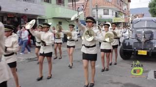Celebración Clubanti en compañia de la Banda Marcial del Benjamín Herrera